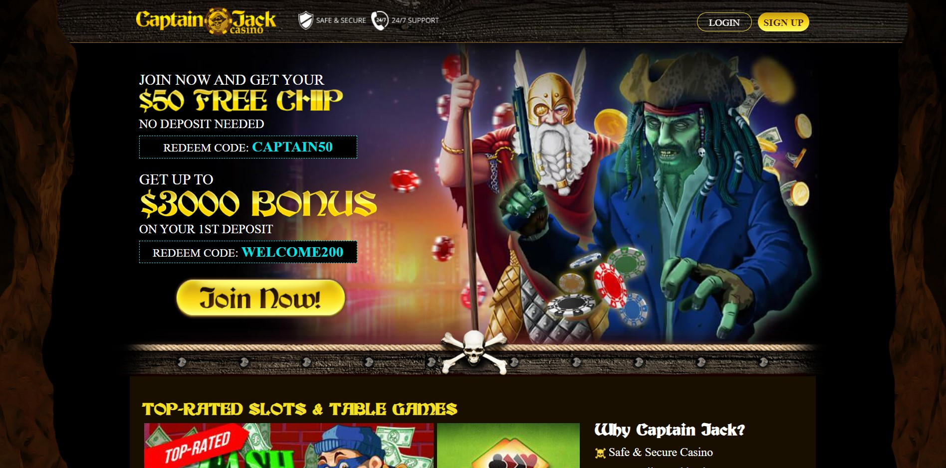 Captain Jack Casino Singapore