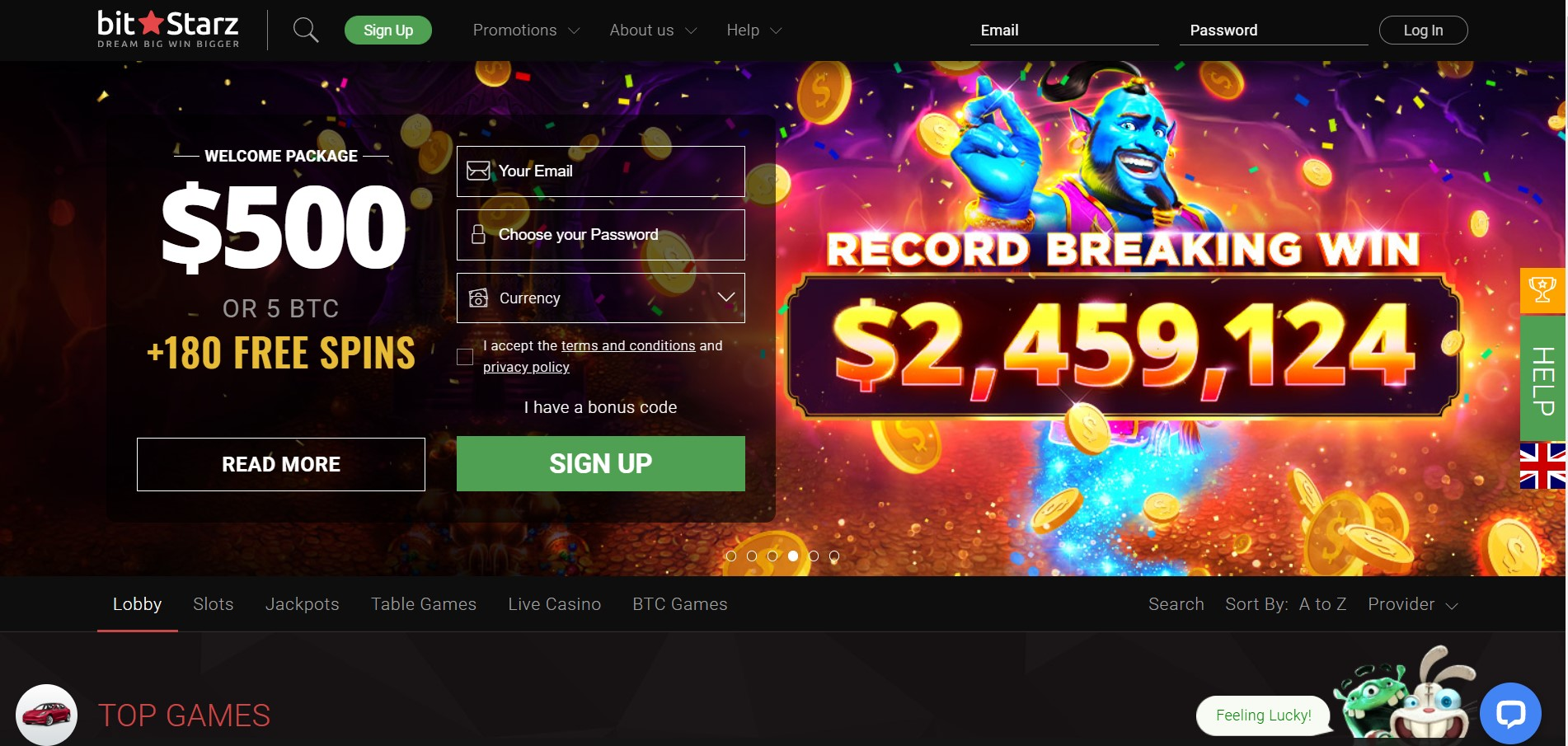Bitstarz Casino Singapore