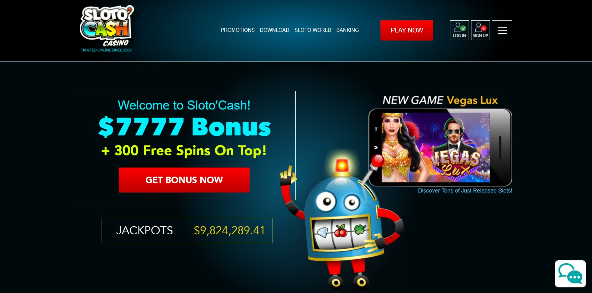 Sloto Cash Casinos Singapore