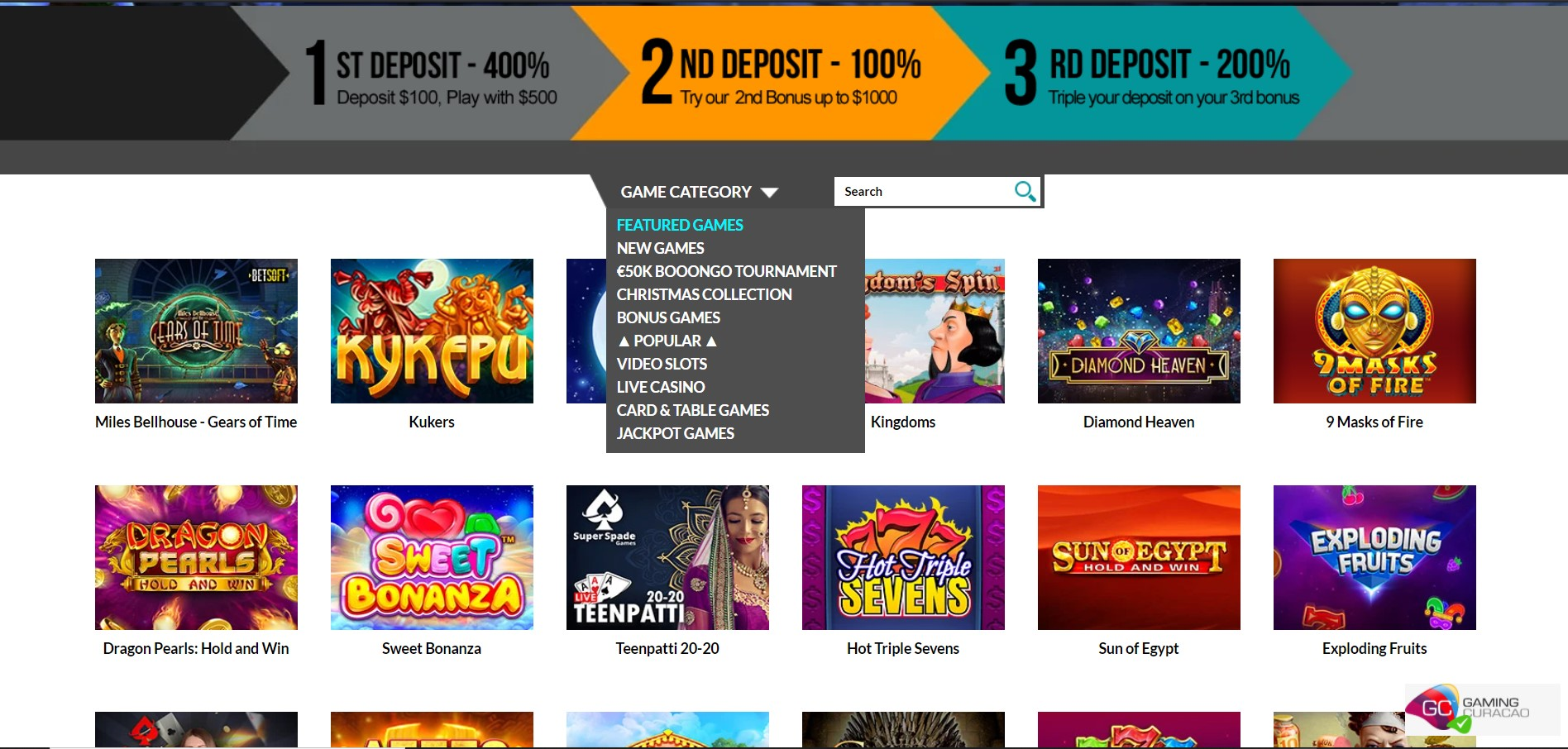 Superlines Online Casino